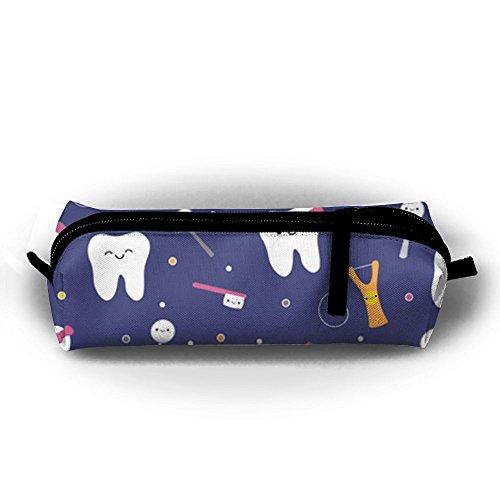 Dental Pencils - KIOT156 Cute Cute Dental Pen Case Pencil Bag Holder Makeup Cosmetic Pouch Bag