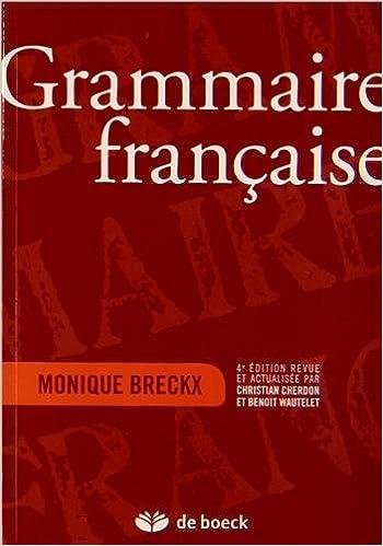 Livre gratuits Grammaire française pdf, epub