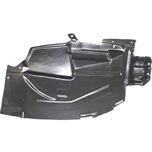 NorthAutoParts 63844CA00A Fits Nissan Murano RH Side Front Inner Fender Splash Shield Liner (Inner Fender Shield)