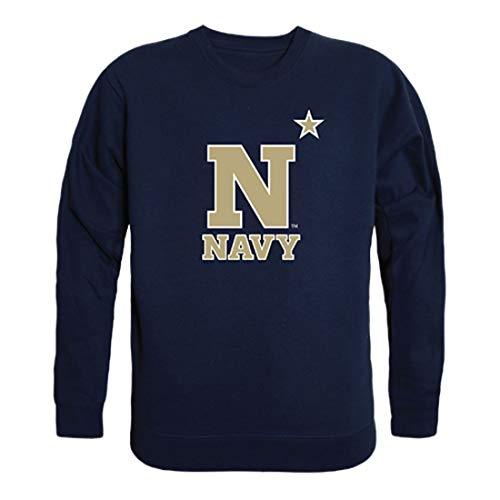 United States Naval Academy Midshipmen Crewneck Pullover Sweatshirt Sweater Navy Medium