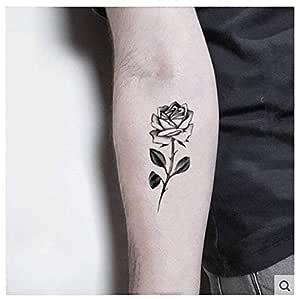 ruofengpuzi Etiqueta engomada del tatuaje Sistema Oscuro Ins ...