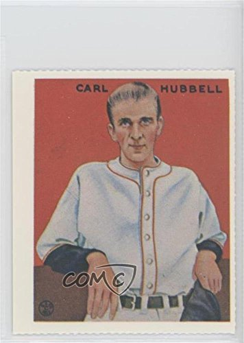 Carl Hubbell (Baseball Card) 1977 Dover Classic Baseball Cards Reprints - [Base] #CAHU.1 (Carl Hubbell Baseball)