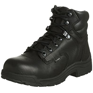 "Timberland PRO Women's 72399 Titan 6"" Safety-Toe Boot,Black,5.5 M"
