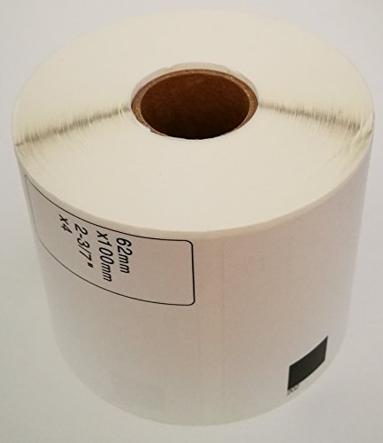 2 Rolls Brother Compatible DK-1202 Die-Cut Shipping Labels (Reusable Cartridge Sold Separately)