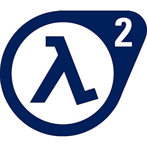 - NBFU DECALS Logo Half Life 1 (Navy Blue) (Set of 2) Premium Waterproof Vinyl Decal Stickers for Laptop Phone Accessory Helmet CAR Window Bumper Mug Tuber Cup Door Wall Decoration