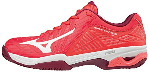 Cc Para Multicolor Exceed white Zapatillas beetred Mujer fierycoral 001 2 Wave Mizuno qTtwX4n