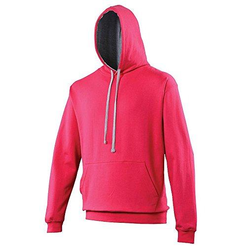 Vif Sweatshirt Gris Bruyère Awdis Homme À Capuche Rose O11dXq6