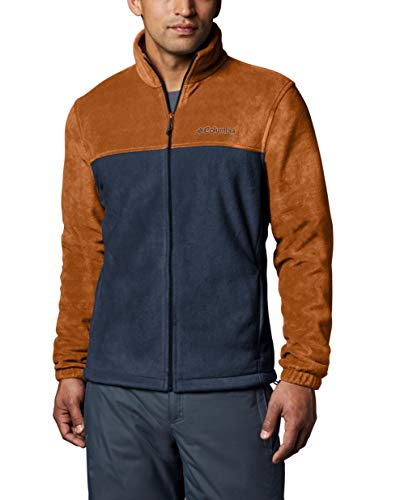 Columbia Apparel Men's Steens Mountain Full Zip 2.0 Soft Fleece Jacket, Bright Copper, Medium