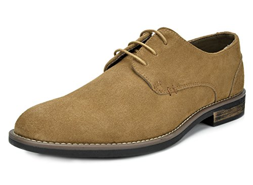 BRUNO MARC MODA ITALY URBAN Men's Casual Brogue Genuine Suede Leather Classic Lace Up Oxfords Shoes