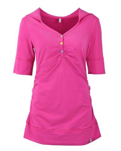 a in colori Mama uomo maglietta still Be IMAN corte push maniche dogsitter lunga distanza Rosa a vari oppure da con kurzarm disponibile cappuccio vw7Ox