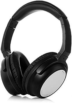 ISELECTOR BT80 bluetooth Auriculares Inalámbricos de Diadema Cerrados, Auriculares estéreo con micrófono integrado, soporta Apt-X (Negro&plateado): Amazon.es: Salud y cuidado personal