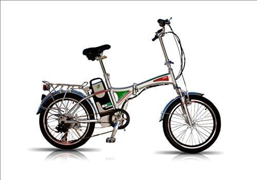 Bicicleta Eléctrica Plegable con Batería de Litio Desmontable 12 Ah Motor 250W Autonomía 80 Kms: Amazon.es: Deportes y aire libre