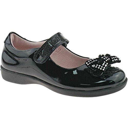Lelli Kelly LK8244 (DB01) Black Patent Adele School Shoes G Width-25 (UK 7)