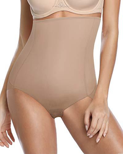 DotVol-Femme-Culotte-Sculptant-Taille-Haute-Confortable-Minceur-Body-Shaper-sous-Vtement