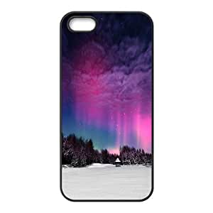 Cases for IPhone 5,5S, Moonlight Aurora Cases for IPhone 5,5S, Kyle5v Black
