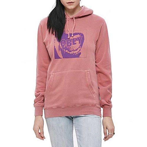Dusty Hood Dark Screamer Rose Obey Felpa Premium Pullover 7qxXICUw