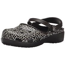 crocs Kids Karin Leopard K Mini Heel Clog