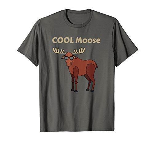 Cool Moose Funny Moose t shirt, Moose Gift -