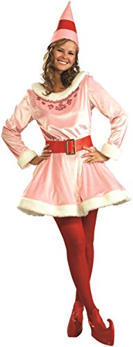 Rubie's Women's Jovi Costume From The Movie Elf Rubie's Christmas Holiday Standard Pink (Jovi Elf Costume)