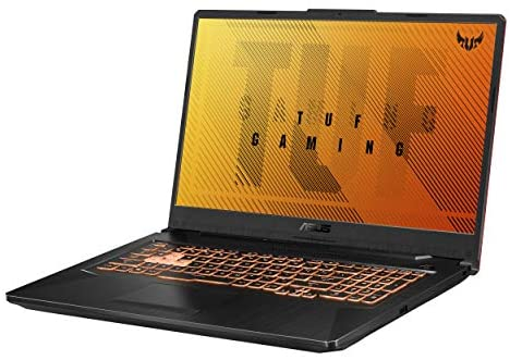 "ASUS TUF Gaming F17 Gaming Laptop, 17.3"" FHD IPS-Type Display, Intel Core i5-10300H, GeForce GTX 1650 Ti, 8GB DDR4, 512GB PCIe SSD, RGB Keyboard, Windows 10, Bonfire Black, FX706LI-RS53"