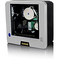 Desktop Barcode Scanner,Symcode Platform Omnidirectional Automatic Laser 1D Barcode Scanner Reader