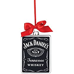 Department 56 Jack Daniels Old No. 7 Rectangle HangingOrnament, 4.125 inch