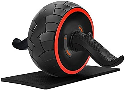 Amazon Com June Fox Ab Roller Wheel For Abs Workout Ab Carver Abdominal Exercise Equipment With Knee Pad Health Personal Care
