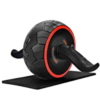June Fox Ab Roller Wheel for Abs Workout Ab Carver Abdominal Exercise Equipment...