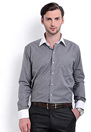 Skorpio 10188-01 Casual Shirt For Men - 44 Us, Gray
