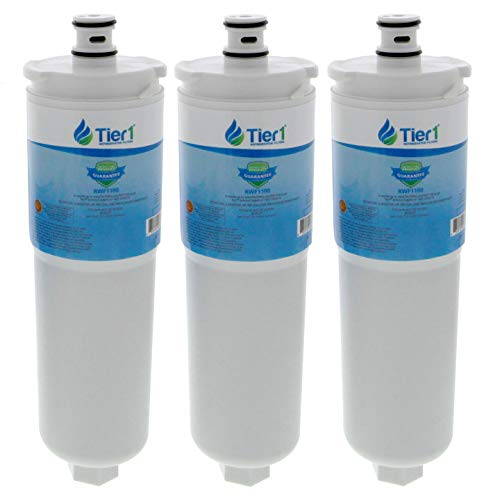 Tier1 Replacement for Bosch 640565, Whirlpool WHKF-R-PLUS, EVOLFLTR10, CS-52, AP3961137 Refrigerator Water Filter 3-Pack (Whirlpool Inline Water Filter Whkf R Plus)