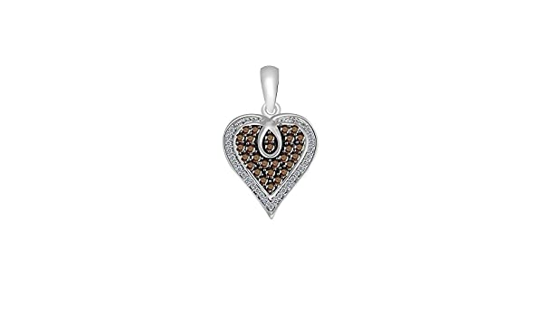 Suhana Jewellery Simulated Diamond Studded Elegant Fashion Charm Pendant Necklace in 14K Rose Gold Plated With Box Chain