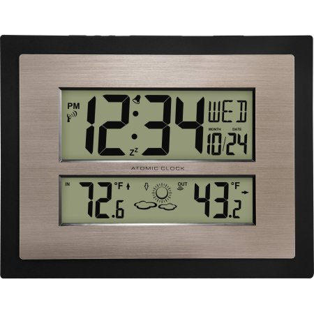 Amazoncom Better Homes and Gardens Atomic Digital Wall Clock