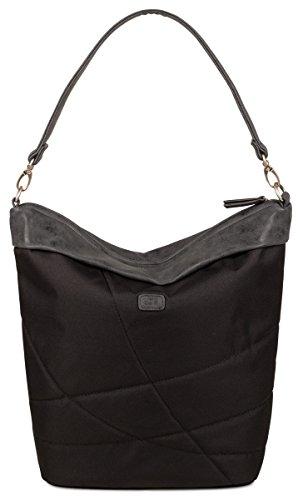 Sac taille noir unique bandoulière Fe12 pour Versandkostenfrei Handtasche femme Zwei G Bei Ferdi à nR1OPY