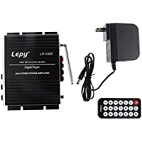 Seeduck Lepy LP-V9S Hi-Fi Mini Stereo Power Digital Amplifier with USB SD DVD CD FM MP3