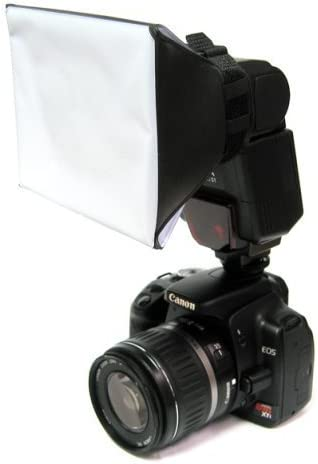 Opteka SB-1 Mini Universal Studio Soft Box Flash Diffuser for The Nikon SB-900 SB-800 SB-700 SB-600 SB-400 SB-700 SB-900 SB-910 Flash Units
