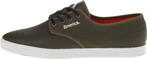 EMERICA Skateboard Shoes THE WINO OLIVE/GREY/GUM Size 6