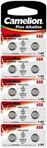 Alkaline Knopfzelle Camelion Ag6 Lr69 Lr921 Kamera