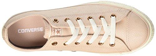 Converse Unisex-Kinder CTAS Ox Particle Beige/Egret/Rose Gold Sneaker Beige (Particle Beige/Egret/Rose Gold)