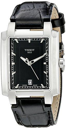 [해외] Tissot 손목시계T0613101605100 여성용 아날로그 표범시 쿼츠 블랙