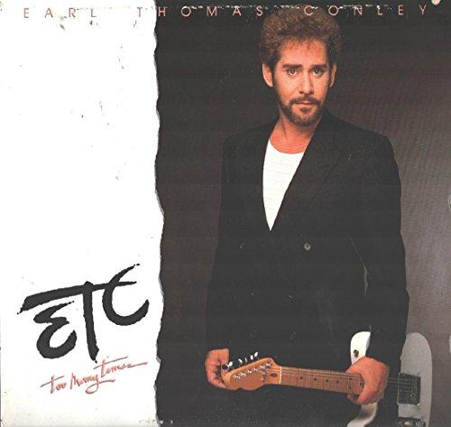 Earl Thomas Conley: Etc. Too Many Times LP VG++/NM Canada RCA Victor 5619--1-R -  Vinyl