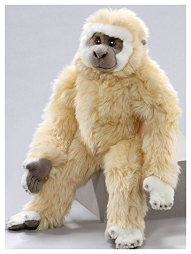 Monkey Gibbon 11 inches, 18 inches from head to foot, 28cm/45cm, Plush Toy, Soft Toy, Stuffed Animal - Gibbon Monkey