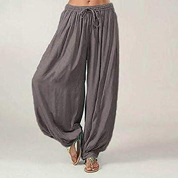 ALUN Leggings Deportivos Pantalones Genie Yoga Algodón ...
