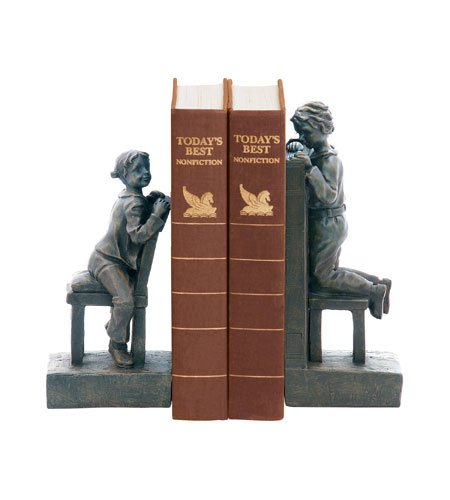 Sterling Pair of Peek A Boo Bookends