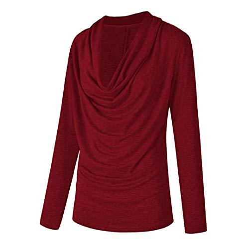 2018 Tops Confortable Jolie Shirt Nouvelle Tricot Femme Solide Printemps Manches Chandail T paule Femmes Automne Hors Blouse Hiver Mode Mode Gris t lgant Longues q8Y0wR