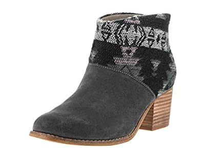 TOMS Shoes Women's Leila Grey Suede Boots