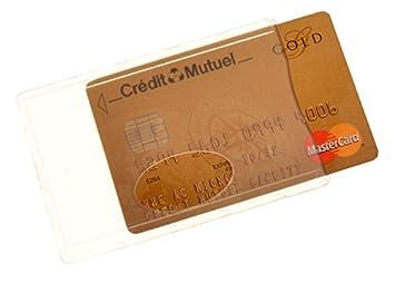 Carte Bleue Transparente.Color Pop 1 Etui Rigide Transparent Incolore Pour Carte De Credit