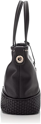 Tote Jeans Trussardi Women's Black Mimosa Bag Ecoleather Smooth nPdXdxzq