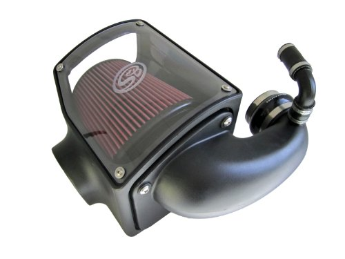 S&B Filters 75-5045 Cold Air Intake Kit for 1992 - 2000 Chevy GMC 6.5L Duramax 1500 2500 3500 (Cleanable Filter)