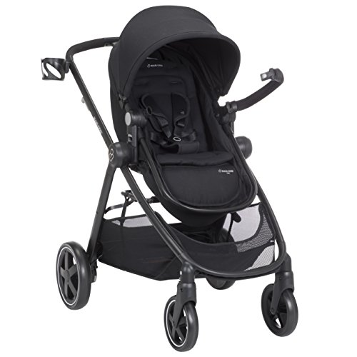 Maxi-Cosi Zelia 5-in-1 Modular Travel System Stroller and Mico 30 Infant Car Seat Set (Night Black) by Maxi-Cosi (Image #8)
