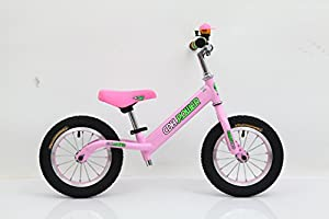 CDHpower 12x2.125 Inch Adjustable Balance Bike, Pink Balance Bike for Ages 2 to 6 Years Old.10.12LB